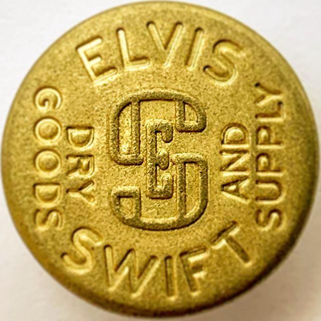 ELVIS SWIFT Dry Goods & Supply - Tack Button #elvisswiftdrygoods #ykk #jeanbutton #rawdenim #buttonbuttonwhosgotthebutton #naplesart #naplesfl