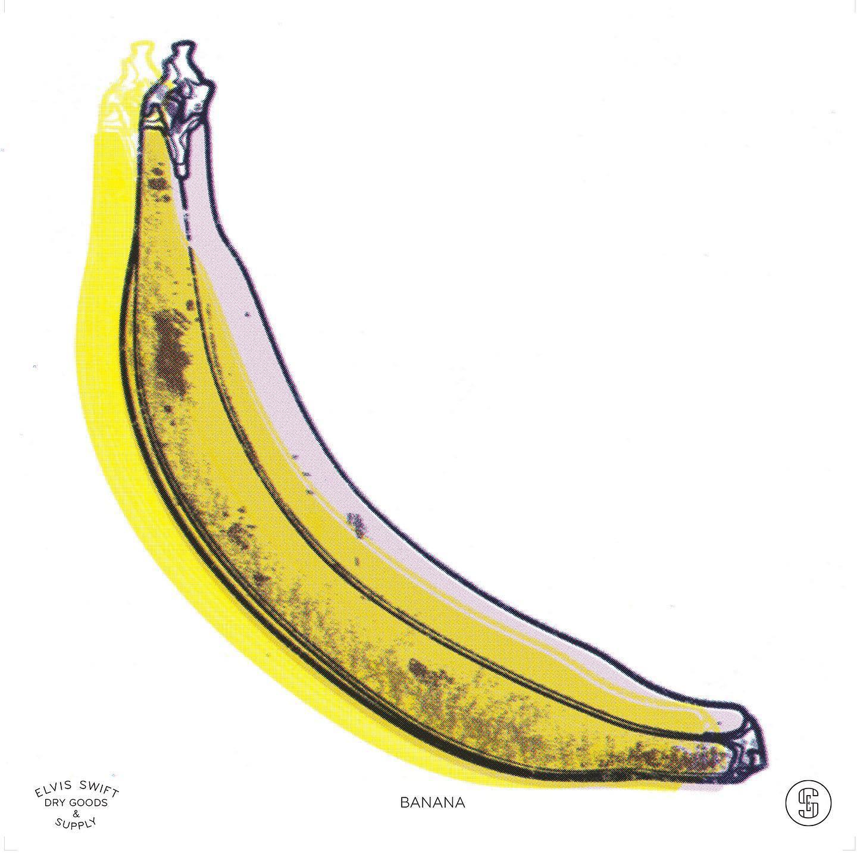 BANANA - Elvis Swift, 2020 #banana #bananaart #elvisswift #elvisswiftdrygoods #postpopart #naplesartdistrict #naplesart #naplesfl