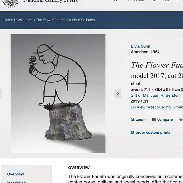Le Fleur Se Fane - The Flower Fadeth #theflowerfadeth #theflowerfades #steelsculpture #sittingandthinking #thethinker #elvisswiftdrygoods #artisticaspirations #almosttoogoodtobetrue #naplesart #naplesfl