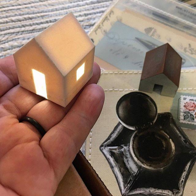 House in Hand #tinyhouse #tinyhome #littlehouse #lighthouse #minimansion #primitivehouse #primitiveform #naplesart #naplesfl