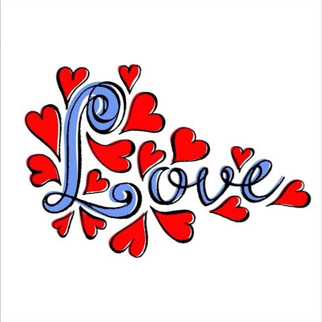 Happy Valentine's Day #happyvalentinesday #lovejoypeace #bemyvalentine #elvisswiftdrygoods #lettering #letteringart #handwriting #naplesfl