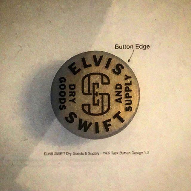 Tack Button Design #tackbutton #tackbuttons #jeanbutton #jeanbuttons #metalbuttons #buttons #ykkusa #ykk #elvisswiftdrygoods #naplesfl