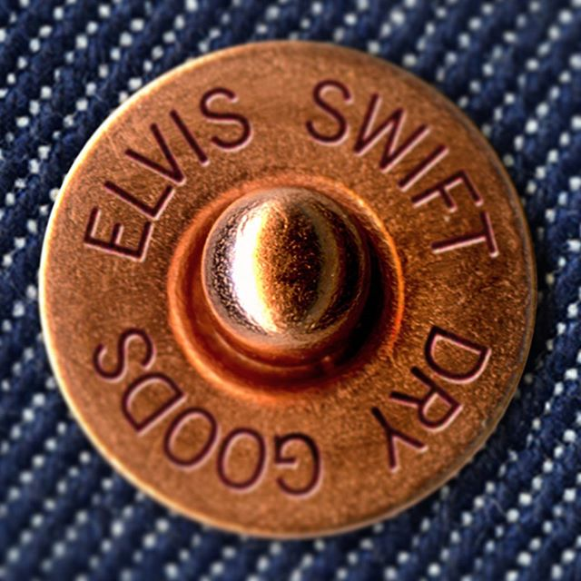 COPPER RIVET DAY 2019. One hundred and forty-six years ago on May 20, 1873, Levi Strauss and Jacob Davis obtained a U.S. patent for using rivets in men's denim work pants. #elvisswiftdrygoods #desireeverythingdiscardnothing #copperrivetday #copperrivet #rawdenim #welovedenim #bluejeans #bluejeansblues #levistrauss #naplesfl