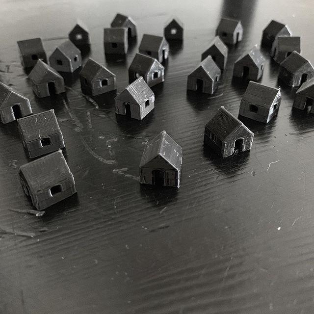 Housing Developments #tinyhouse #littlehouse #tinyhouses #littlehouses #housingdevelopment #3dprinting #tinyneighborhood #naplesart #naplesfl