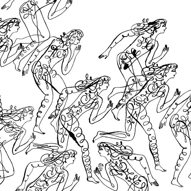 Runners in ink  #runners #marathonrunners #goagainstthegrain #figuredrawing #inkdrawing #drawinginink #thinkinginink #illustration #joaniebernsteinartrep #elvisswift Limited edition print available at https://elvisswiftdrygoods.com/shop/art-dept/go-your-own-way/