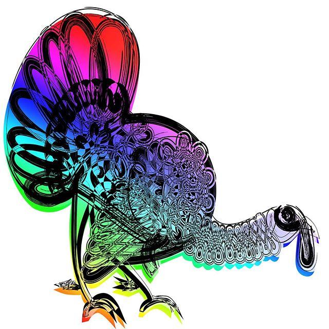 Cooked Turkey - Crate and Barrel pillow concept. Reject. #cookedturkey #colorsgalore #crateandbarrel #thanksgivingturkey #inkgonewild #inkdrawing #elvisswift #naplesart #naplesflorida #joaniebernsteinartrep