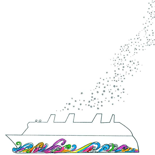 Disney Dream #disneydream #disneydreamcruise #disneycruise #disneycruiseship #colorsgalore #inksketch #conceptart #inkdrawing #elvisswift #naplesart #naplesfl #joaniebrep @joaniebartrep @disneycruiseline