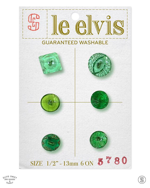 le elvis - Things that might have been -  #lesboutonssont  #vintagebuttons #lechic #leelvis #buttons #buttoncard #lechicbuttons #elvisswiftdrygoods #naplesfl #naplesart